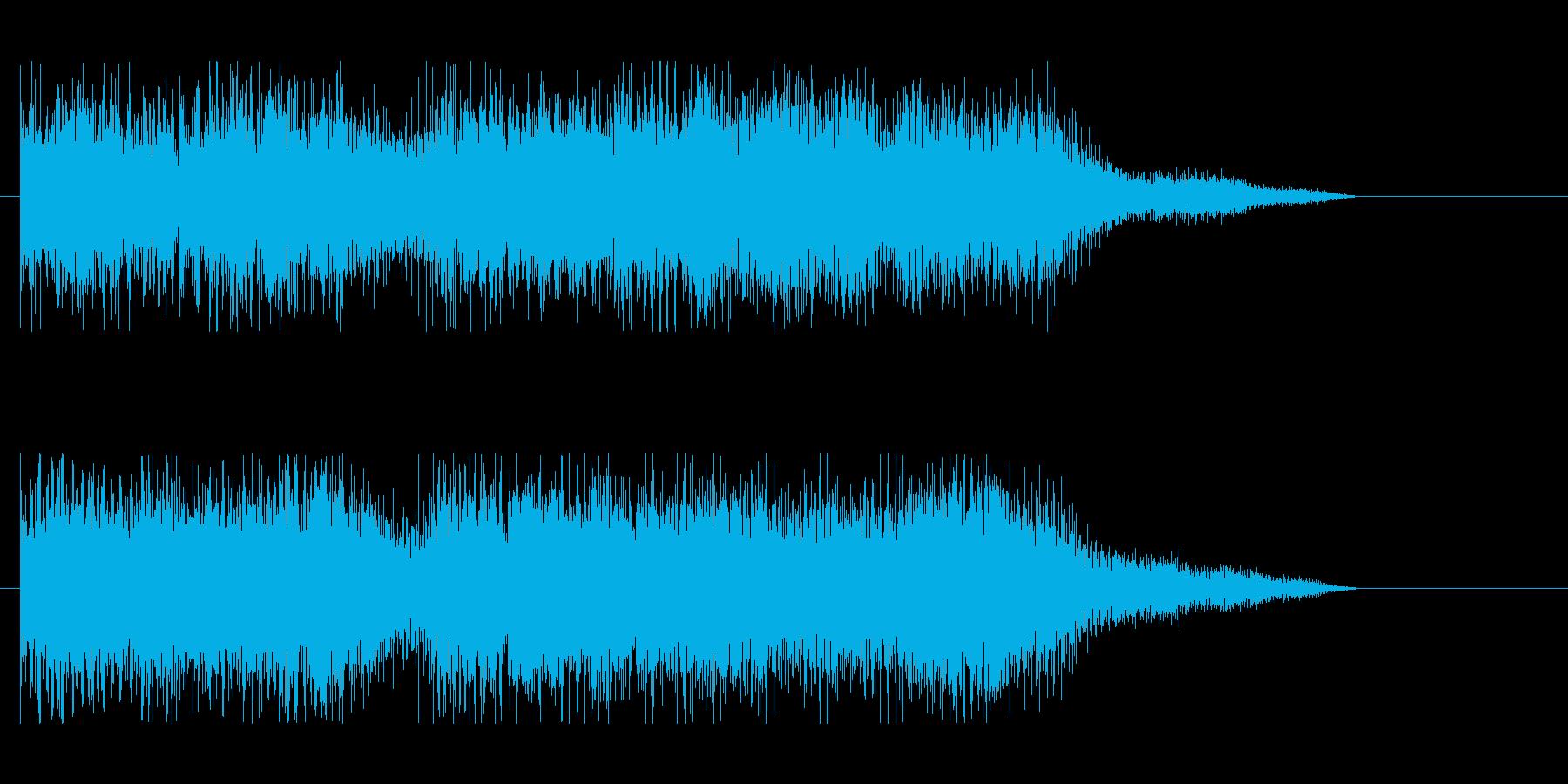Lv.UP、勝利ファンファーレ.02の再生済みの波形