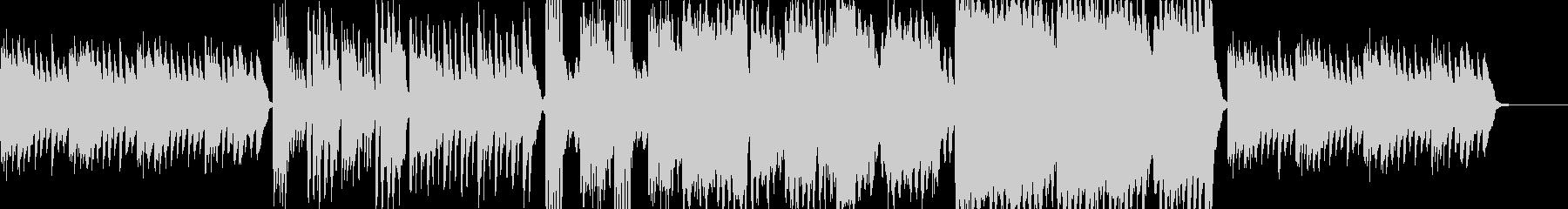 物悲しいハープシコードのホラー曲の未再生の波形