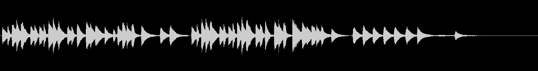 バルトーク「子供のために」3番の未再生の波形