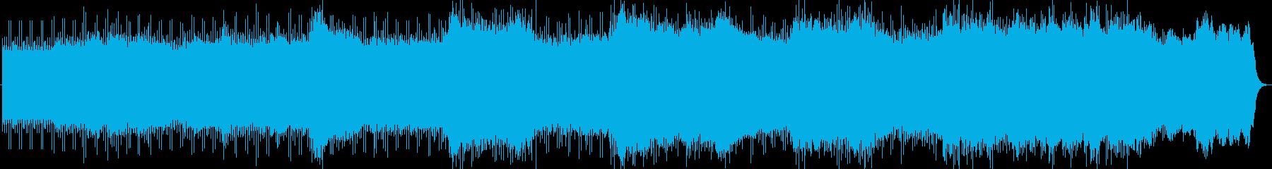 緊迫感を煽るミニマルテクノの再生済みの波形