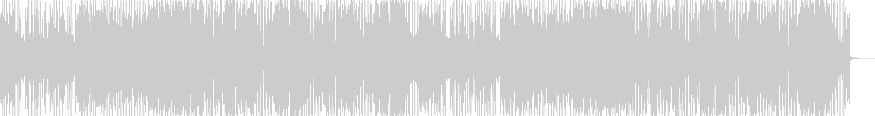 Happy and cute Future Bass's unreproduced waveform