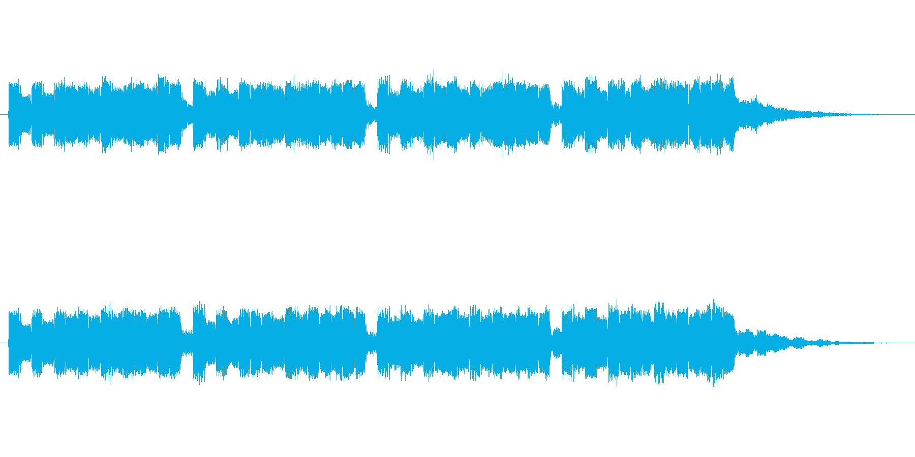 ピヨピヨピヨピヨの再生済みの波形