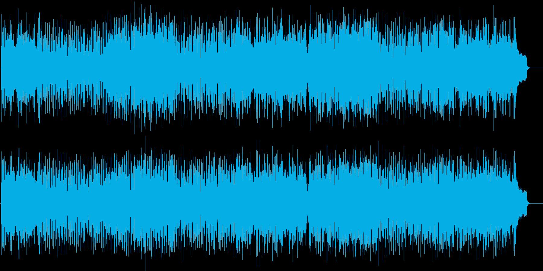 ケレン味のない歯切れ良いポップの再生済みの波形