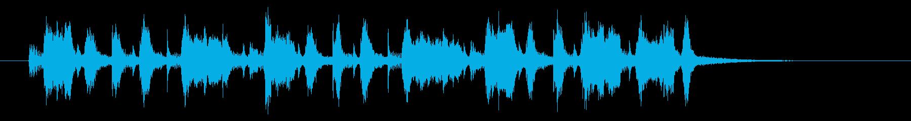 ムーディなトランペットジャズ風ジングルの再生済みの波形