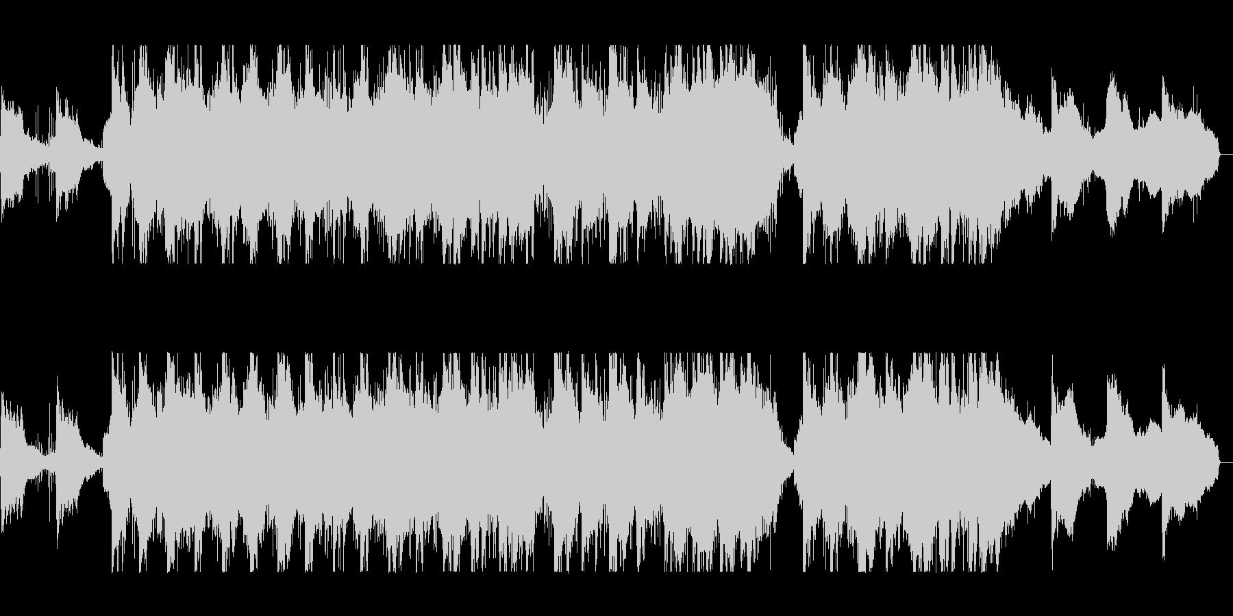 バイオリンの旋律が成熟さを連想させる曲の未再生の波形