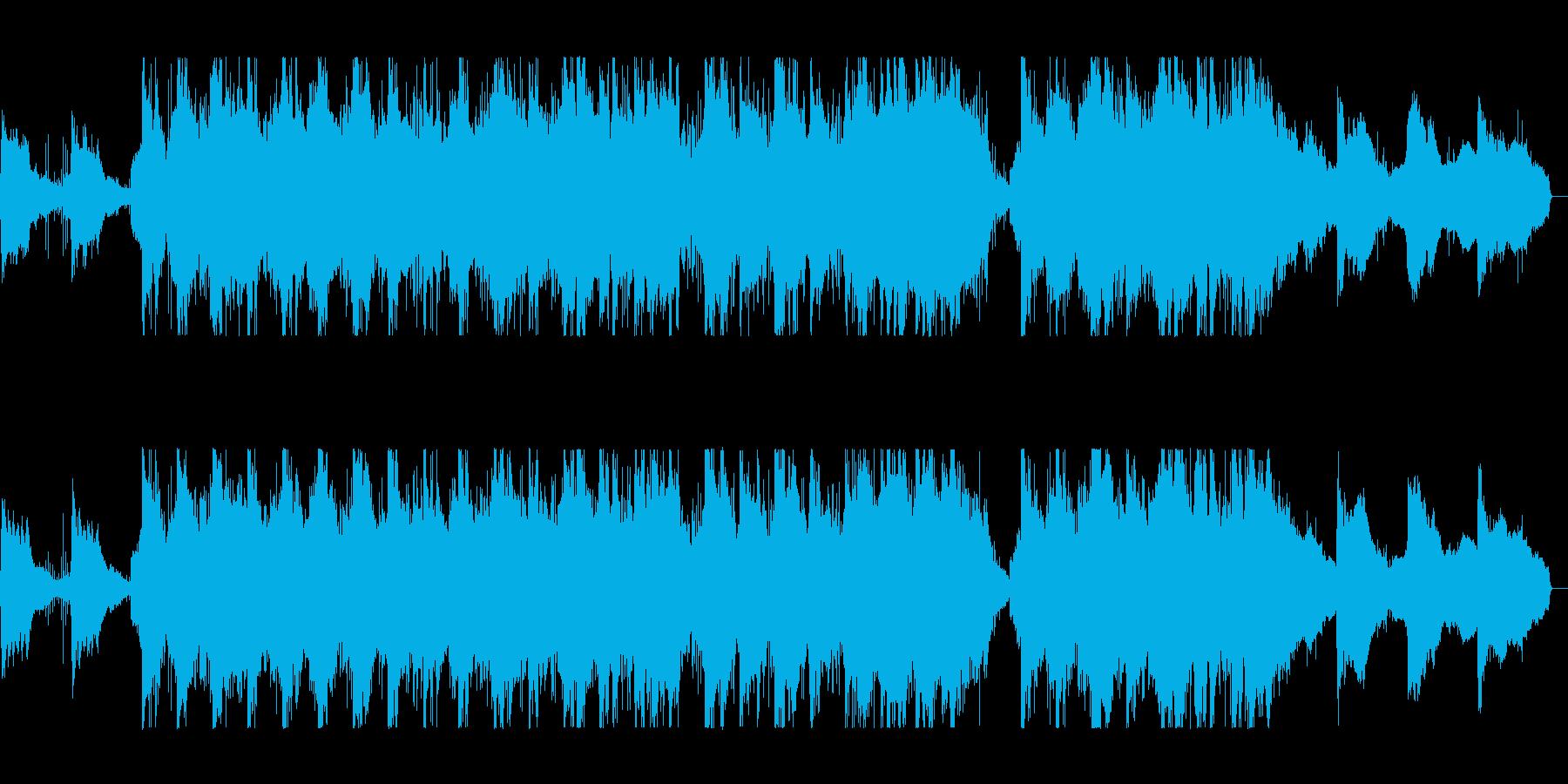 バイオリンの旋律が成熟さを連想させる曲の再生済みの波形