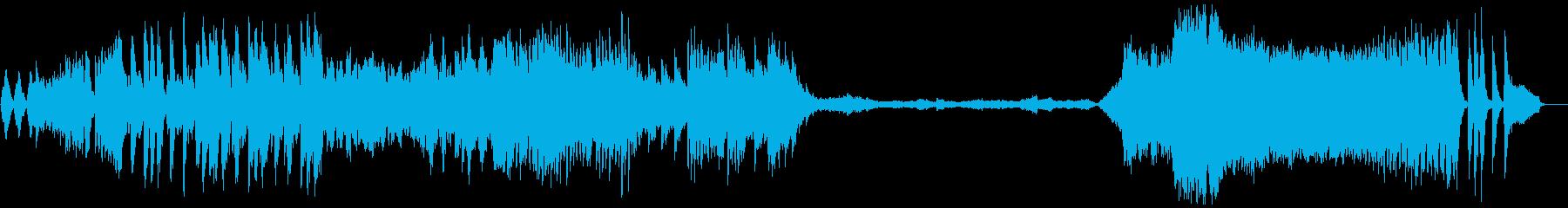 「新世界より」から第4楽章 編集版の再生済みの波形