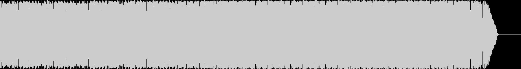 コミカルなゲームのピコピコBGMの未再生の波形