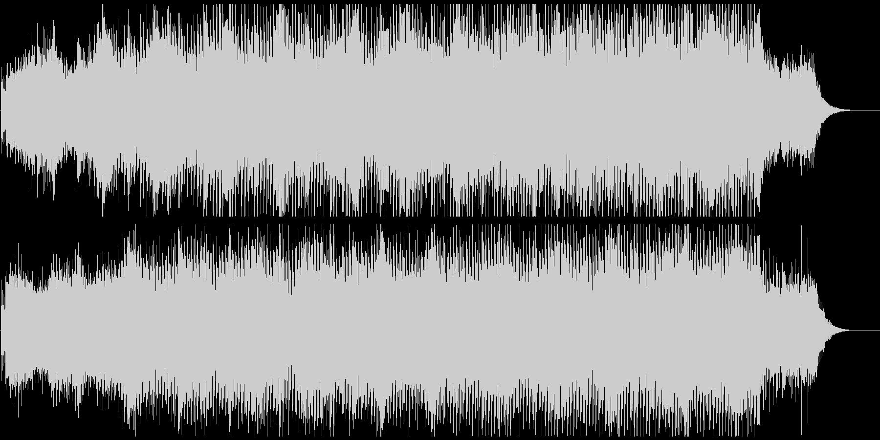 オープニングアクト盛り上げ ソフトロックの未再生の波形