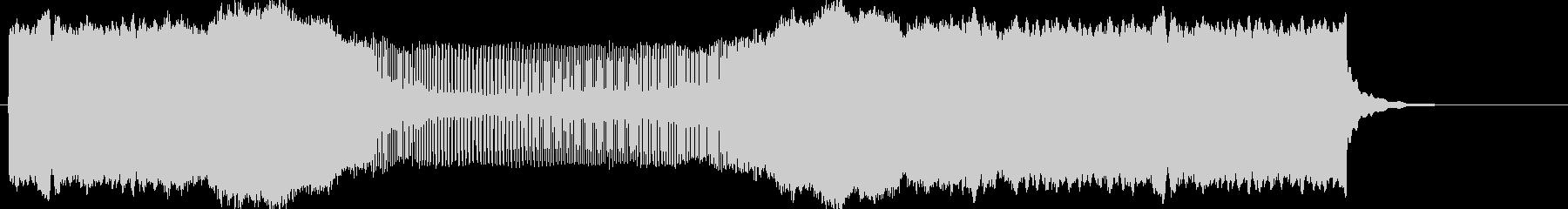 ピィーーーーーーーン(下降→上昇)の未再生の波形