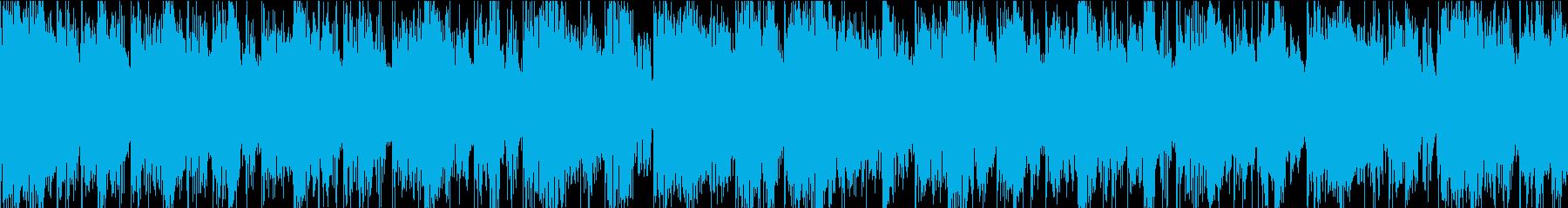 クラシックなサザンロック。ラフで未...の再生済みの波形