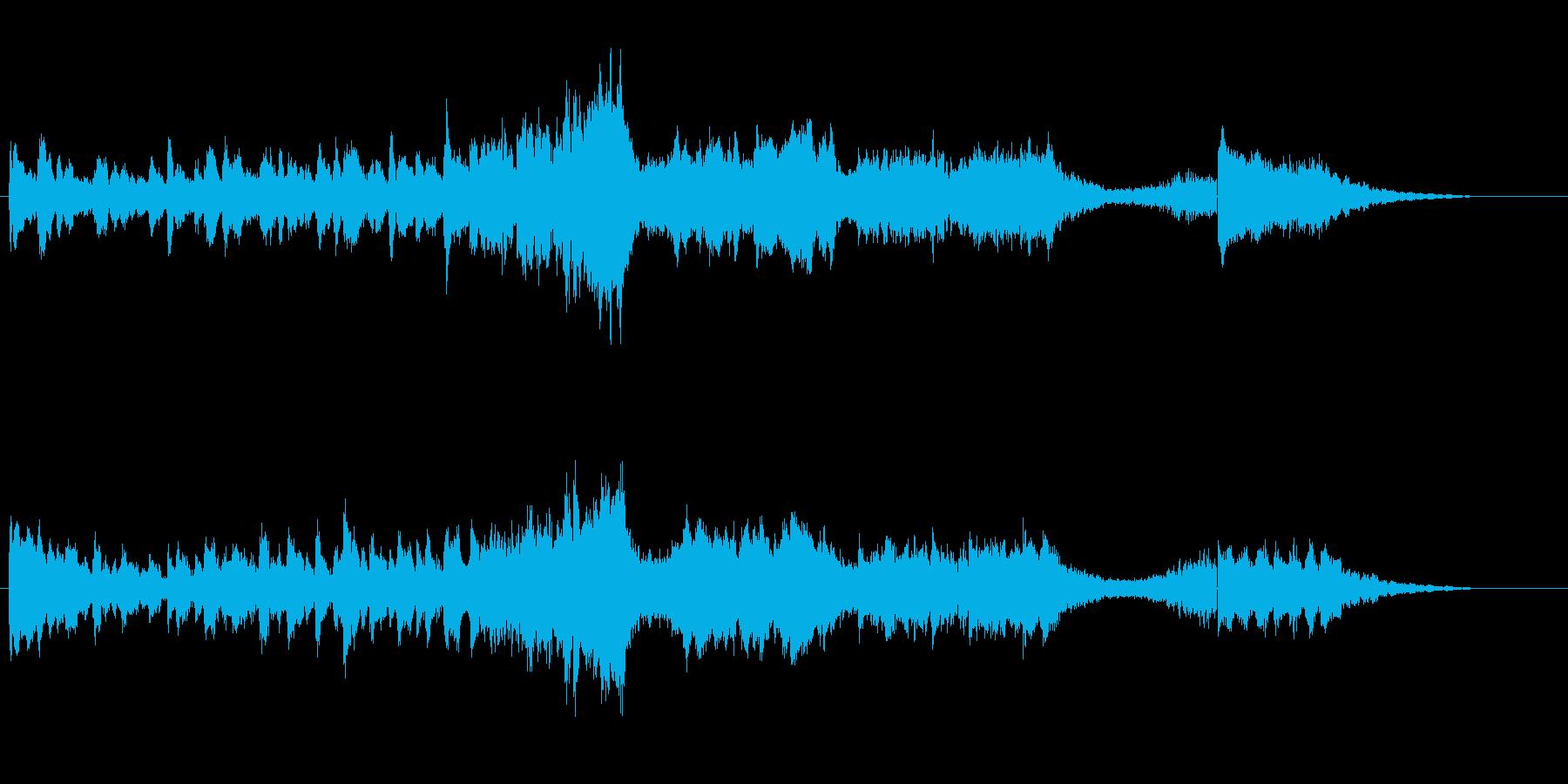 ストリングが特徴的な楽曲の再生済みの波形