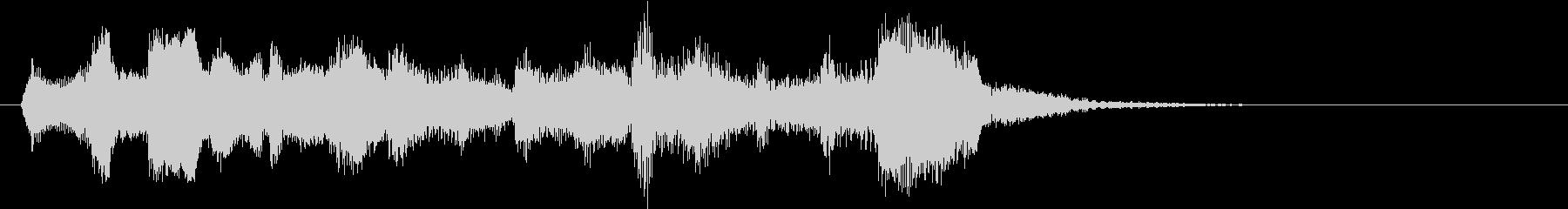 チェロ3重奏でゲームオーバーの未再生の波形