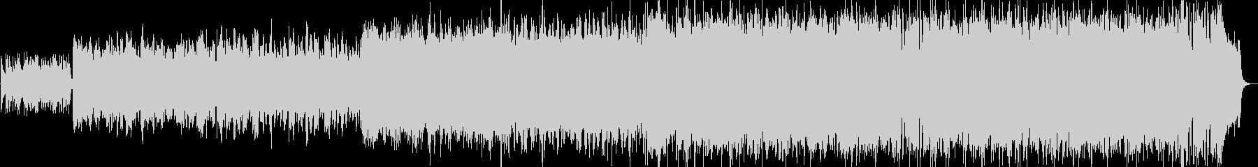 バグパイプのアイリッシュリールの未再生の波形