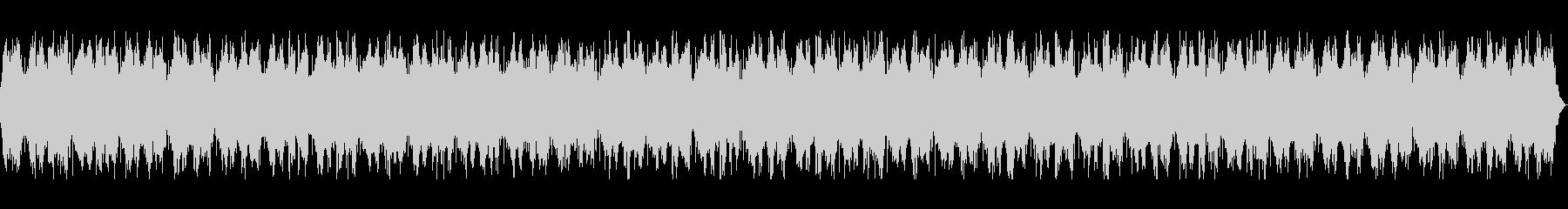 深くセツナ系の長めヒーリングミュージックの未再生の波形