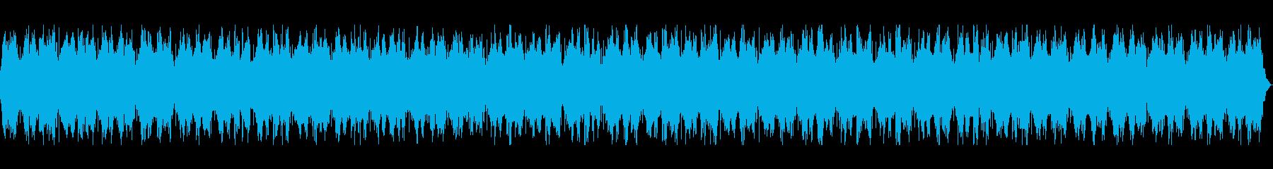 深くセツナ系の長めヒーリングミュージックの再生済みの波形
