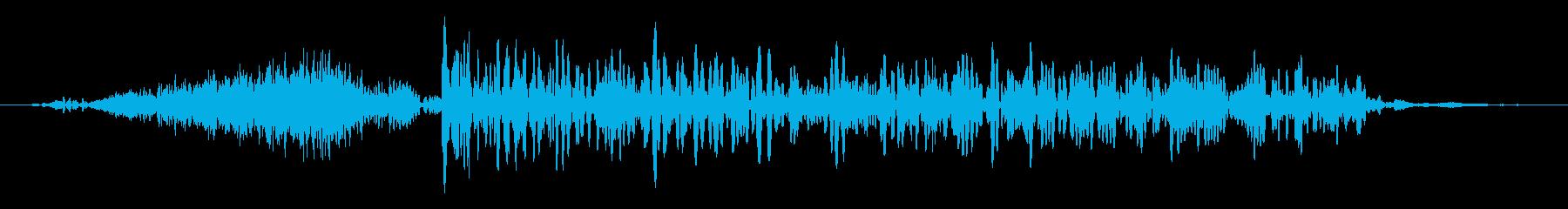 カエル モンスター ゲーム 攻撃 強の再生済みの波形
