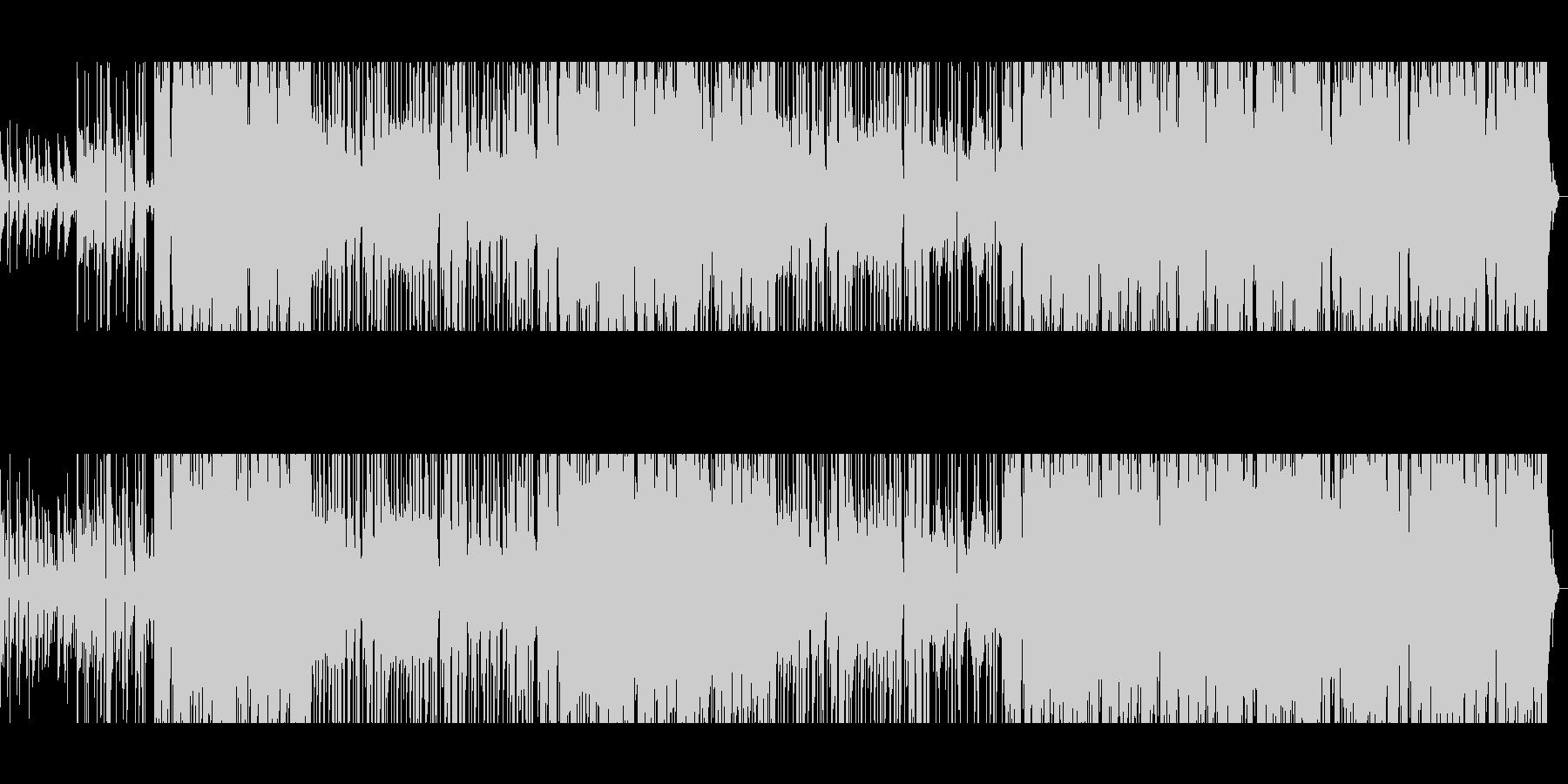 80年代風洋楽バラードインストの未再生の波形
