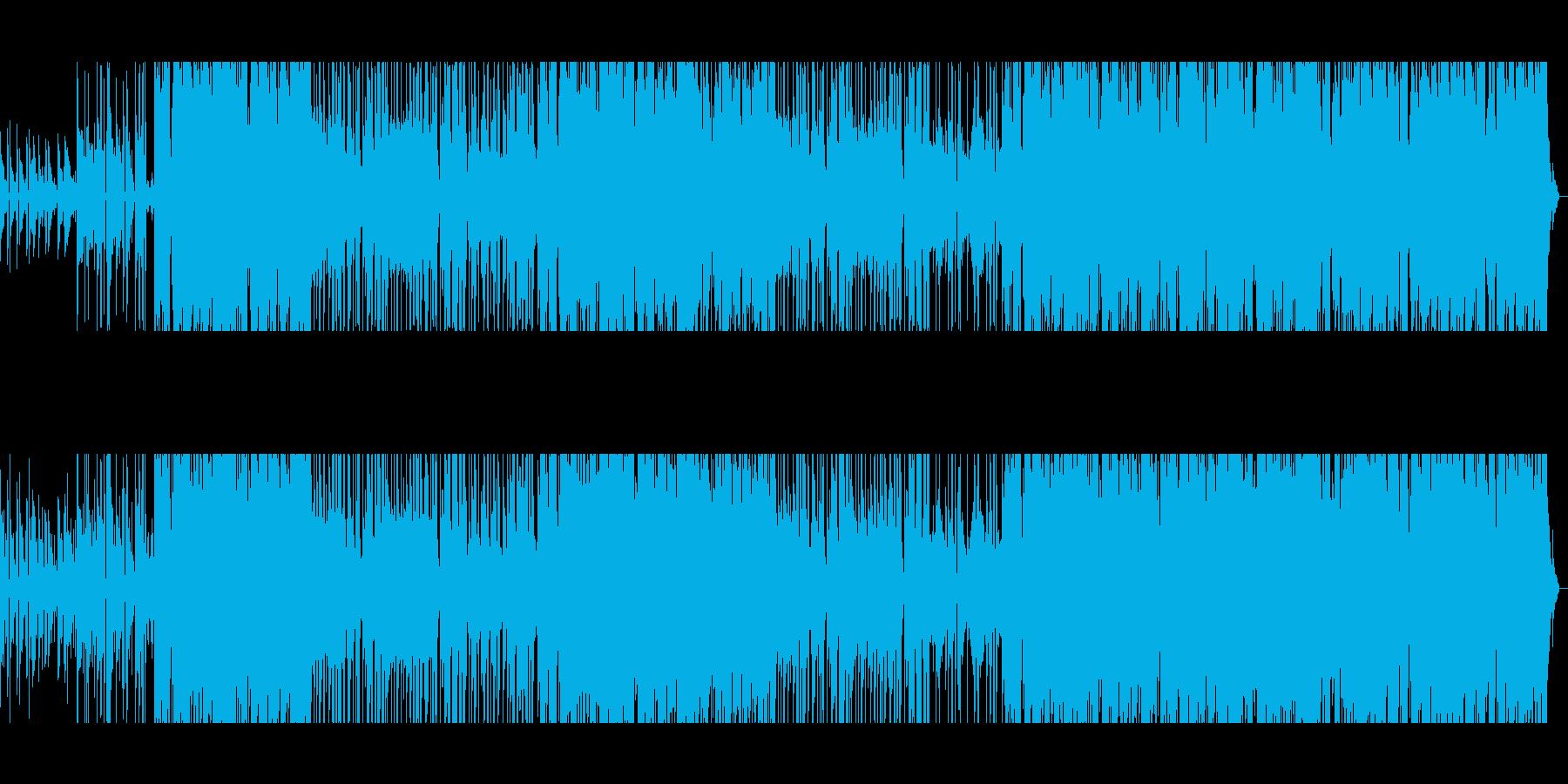80年代風洋楽バラードインストの再生済みの波形