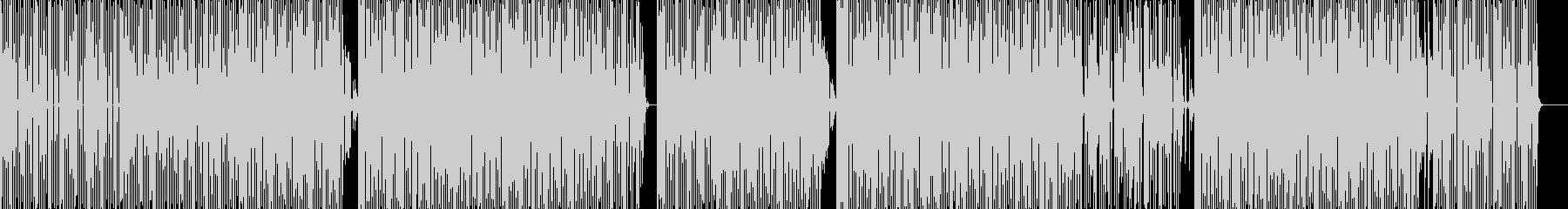 クイズ番組にピッタリな音楽/BGMの未再生の波形