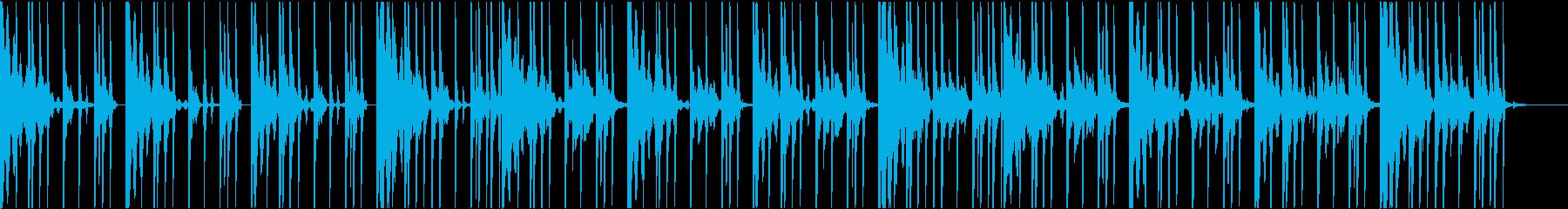 スプラトゥーンバトル前BGMのオマージュの再生済みの波形