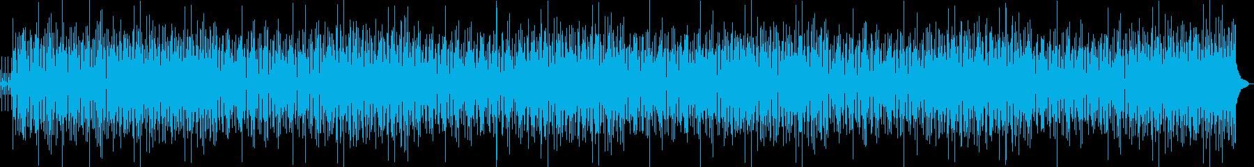 控えめでリズミカルなジャジーの再生済みの波形
