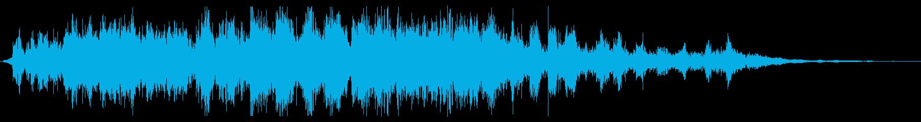 観客 笑い声(長め ダラダラ)TV 公開の再生済みの波形