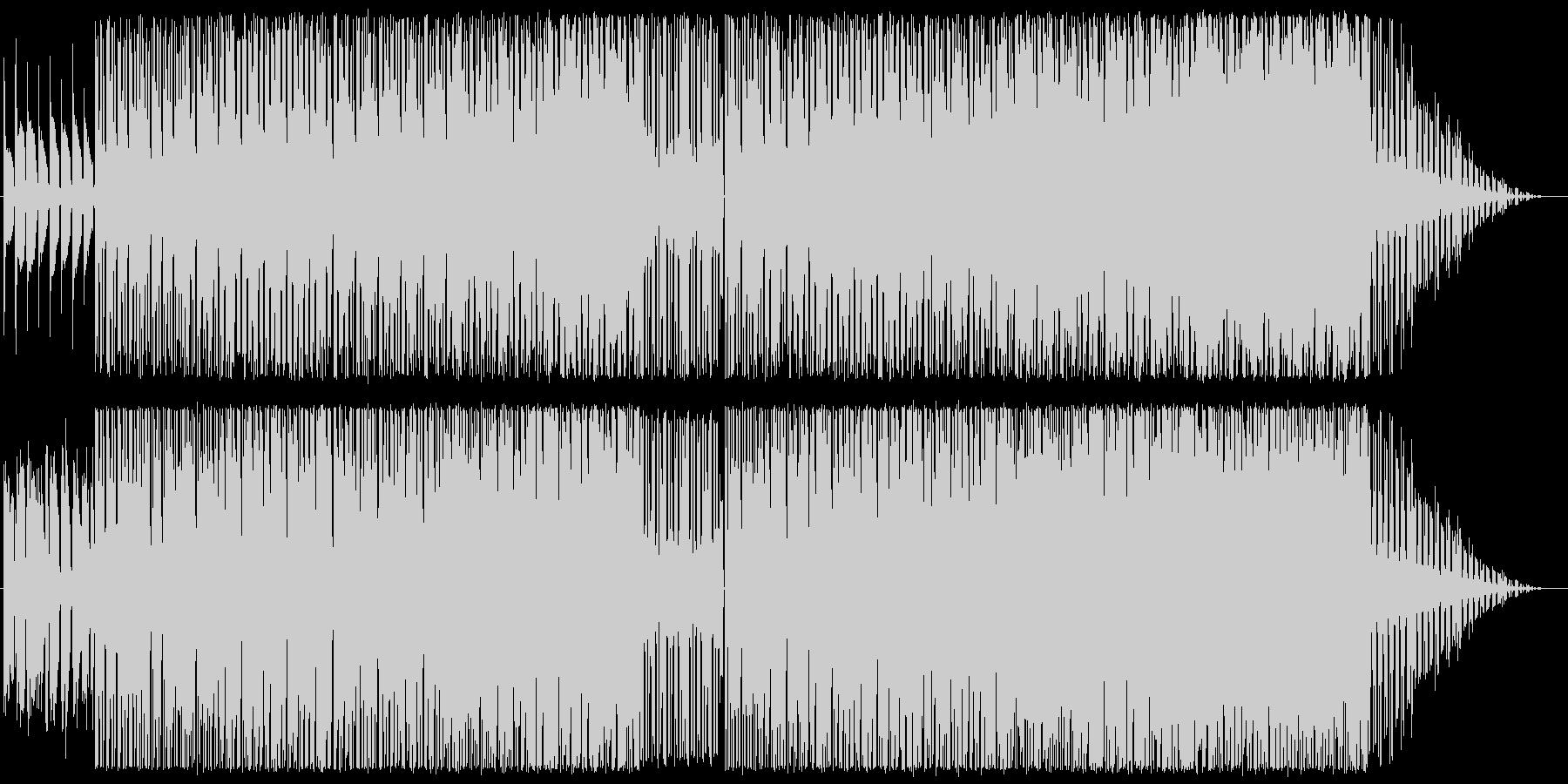 ローズをメインとしたインスト楽曲の未再生の波形