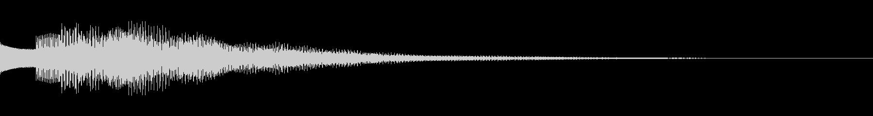 キラキラリン 上昇 オルゴール 疑問形の未再生の波形