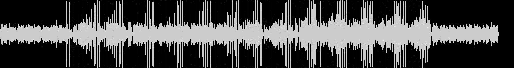 アコーディオンの旋律、悲しい印象の曲の未再生の波形