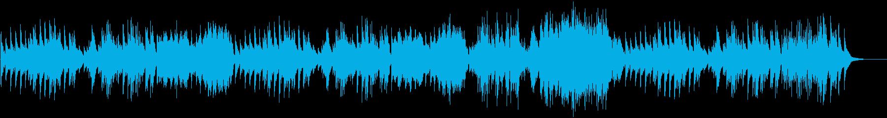 日常を思い描いたような温かいピアノソロの再生済みの波形