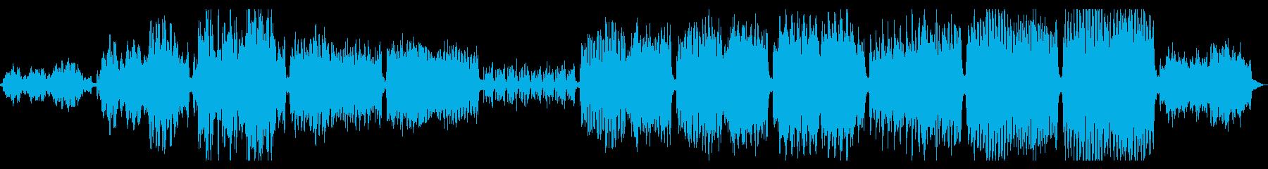 重厚感のあるCM,企業動画向けオケ曲の再生済みの波形
