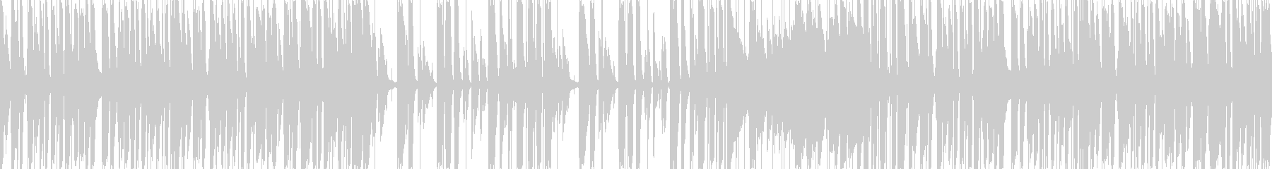 キャッチーでおしゃれなピアノトリオポップの未再生の波形