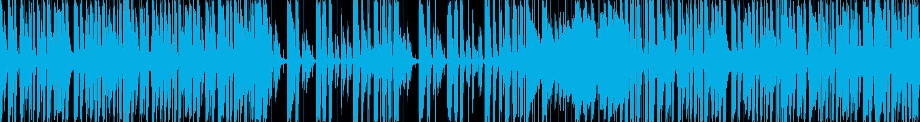 キャッチーでおしゃれなピアノトリオポップの再生済みの波形