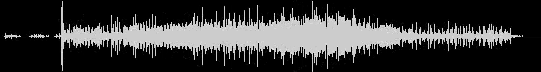 タイガーモス:電動スタート/アイド...の未再生の波形
