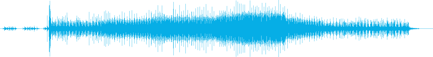 タイガーモス:電動スタート/アイド...の再生済みの波形