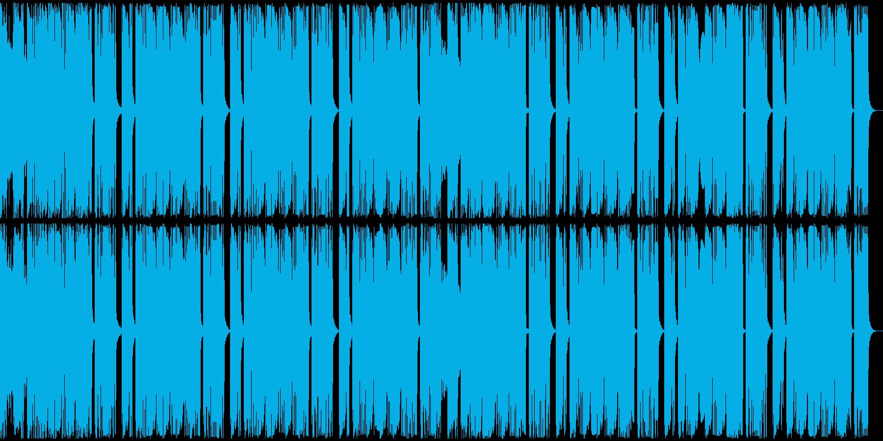 【アンビエント】ロング2、ジングル1の再生済みの波形