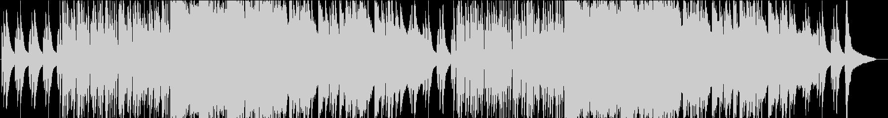 お洒落ジャジーなピアノとサックスのBGMの未再生の波形