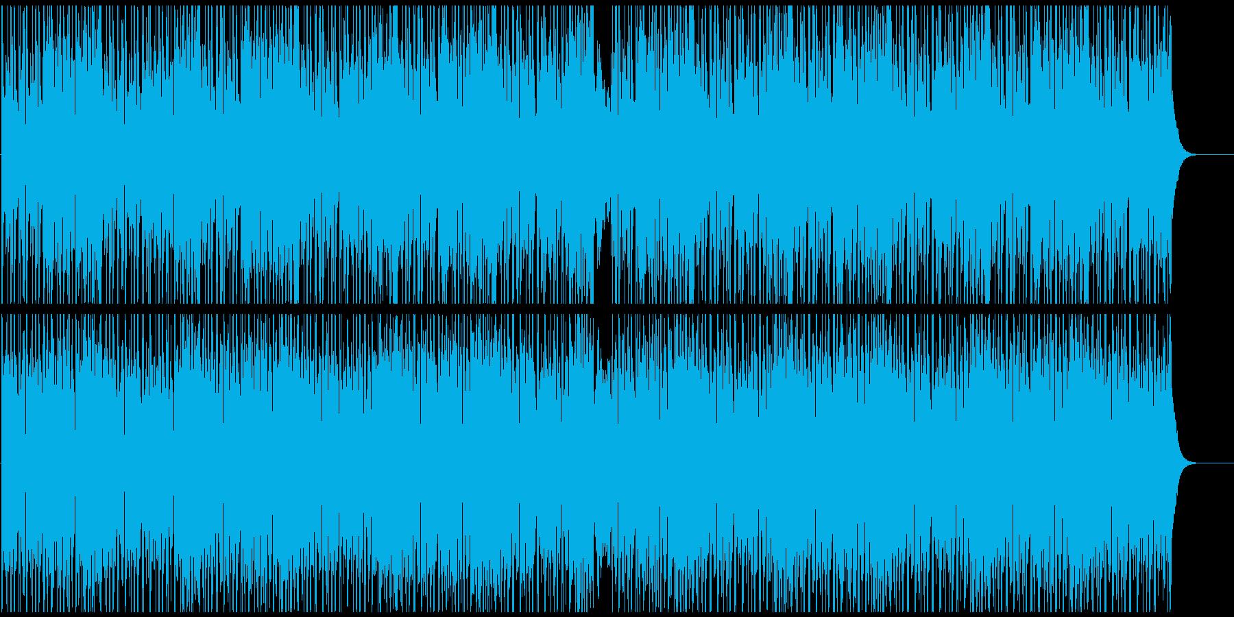まったりしたアンビエントBGMの再生済みの波形