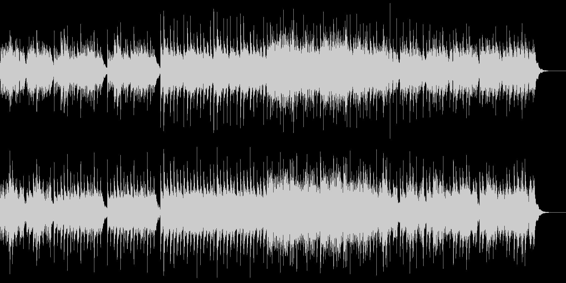 やさしい癒し系ピアノの未再生の波形