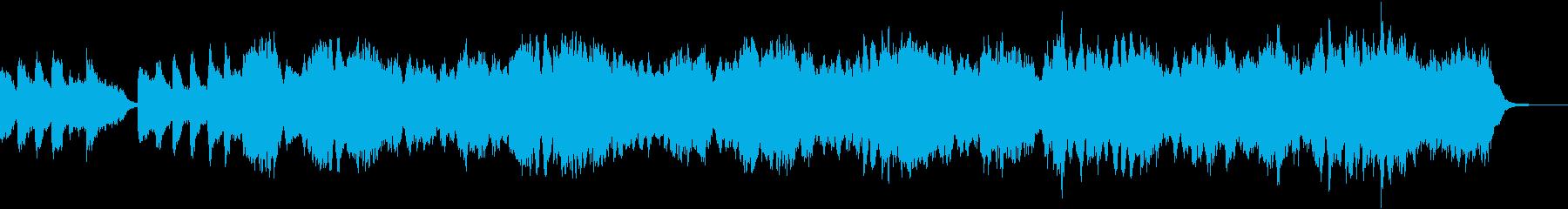 愛情たっぷりなフルートのBGMの再生済みの波形