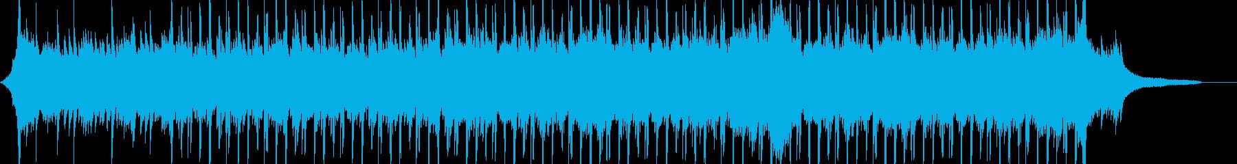 企業VP系48、爽やかピアノ4つ打ちbの再生済みの波形