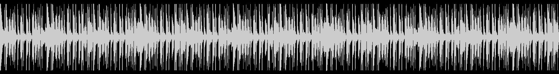 ピンポン跳ねるポップなループ曲の未再生の波形