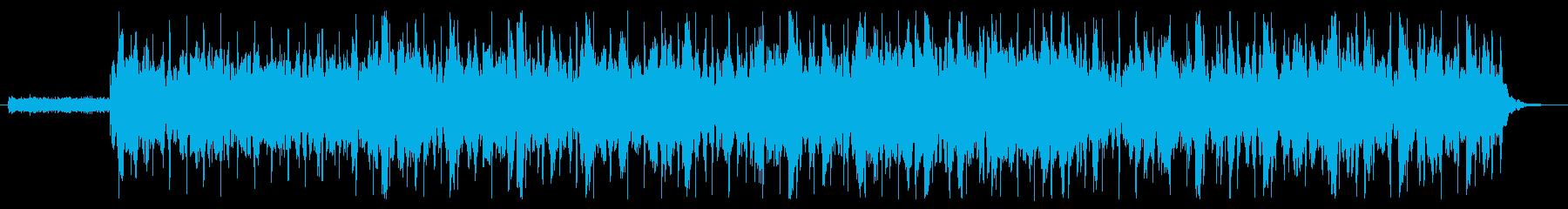 ちょっと切ないピアノの再生済みの波形