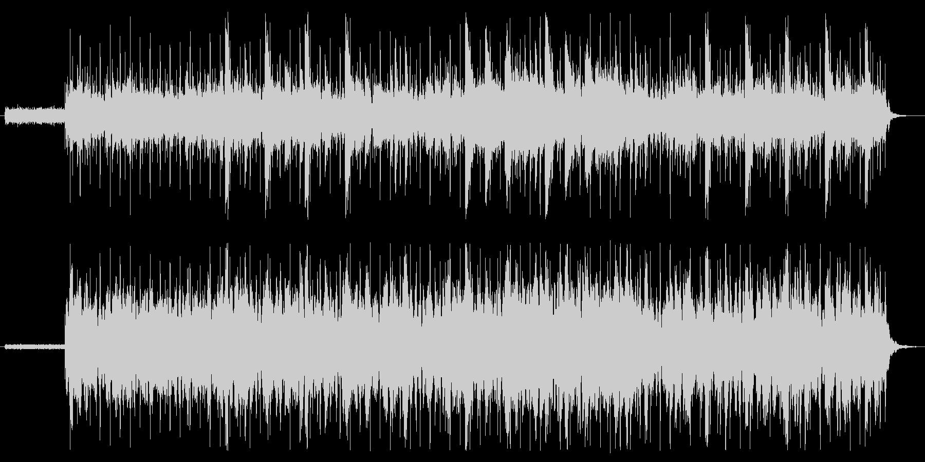 ちょっと切ないピアノの未再生の波形
