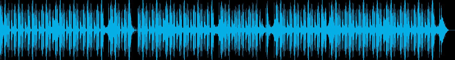切ないピアノダークエレクトロヒップホップの再生済みの波形