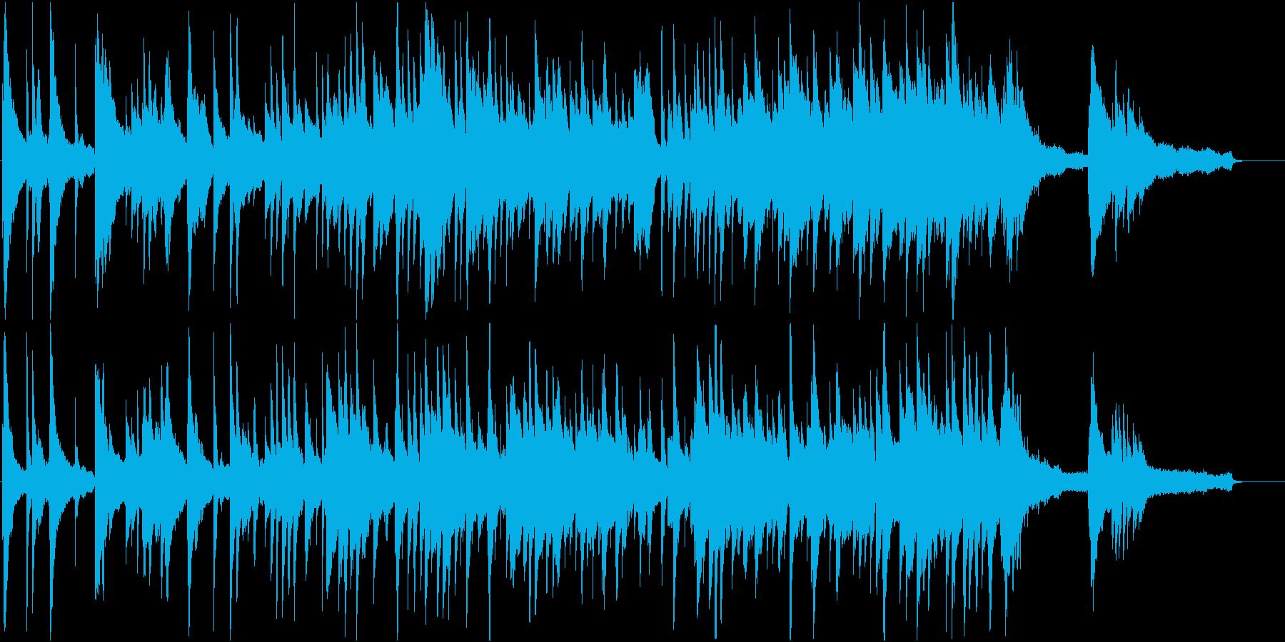 抒情詩のような切ないピアノバラードの再生済みの波形