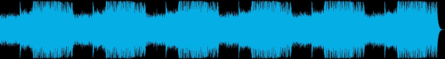 神秘的テクスチャーアンビエントの再生済みの波形