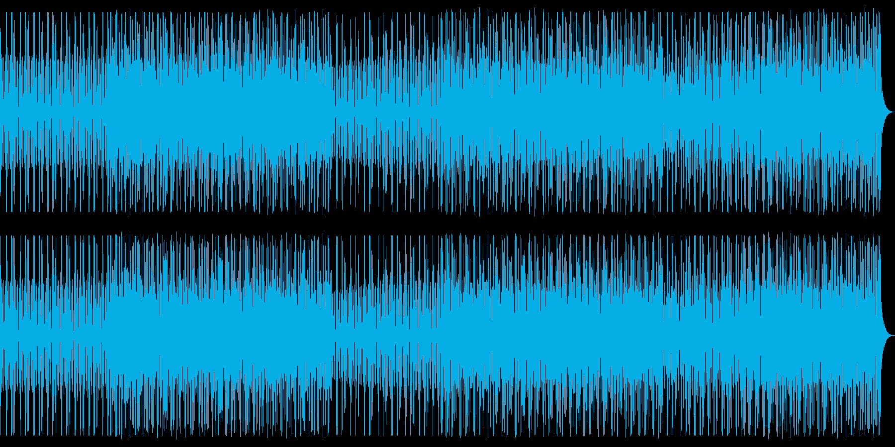 夜。爽やか。ディープハウス。の再生済みの波形
