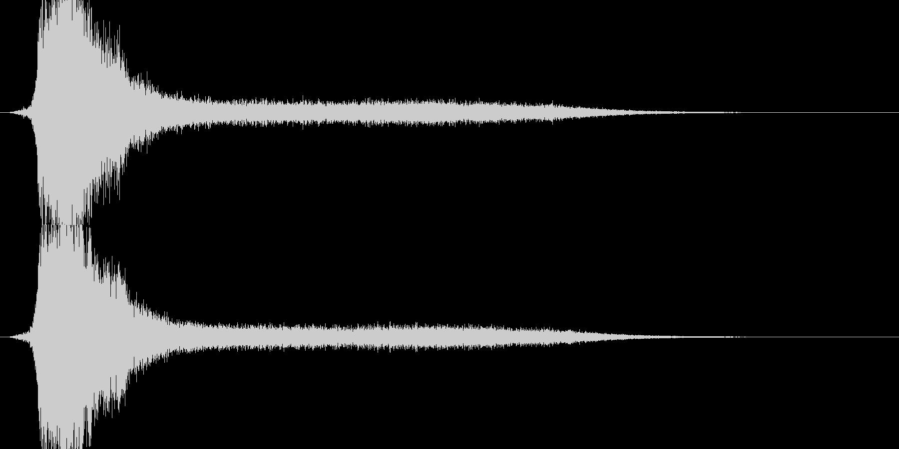 RPG系魔法詠唱イメージ音01の未再生の波形